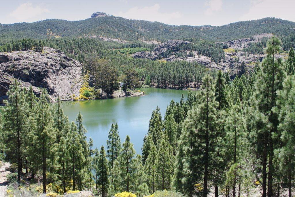 Reservoir in Gran Canaria